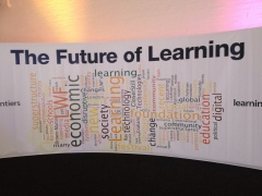 Future of Learning sign